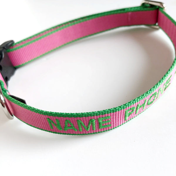 personalized dog collar on barquegifts.com