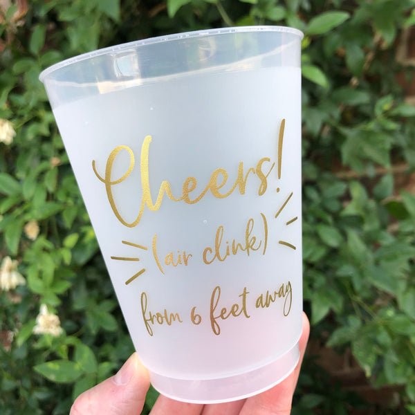 Air Clink Shatterproof Cups