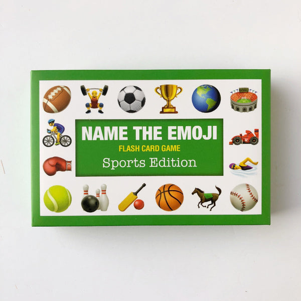 sports name the emoji card game on barquegifts.com