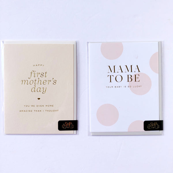 Mother's Day Card Options - Momma's First