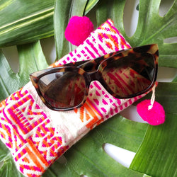 patterned sunglasses bag on barquegifts.com