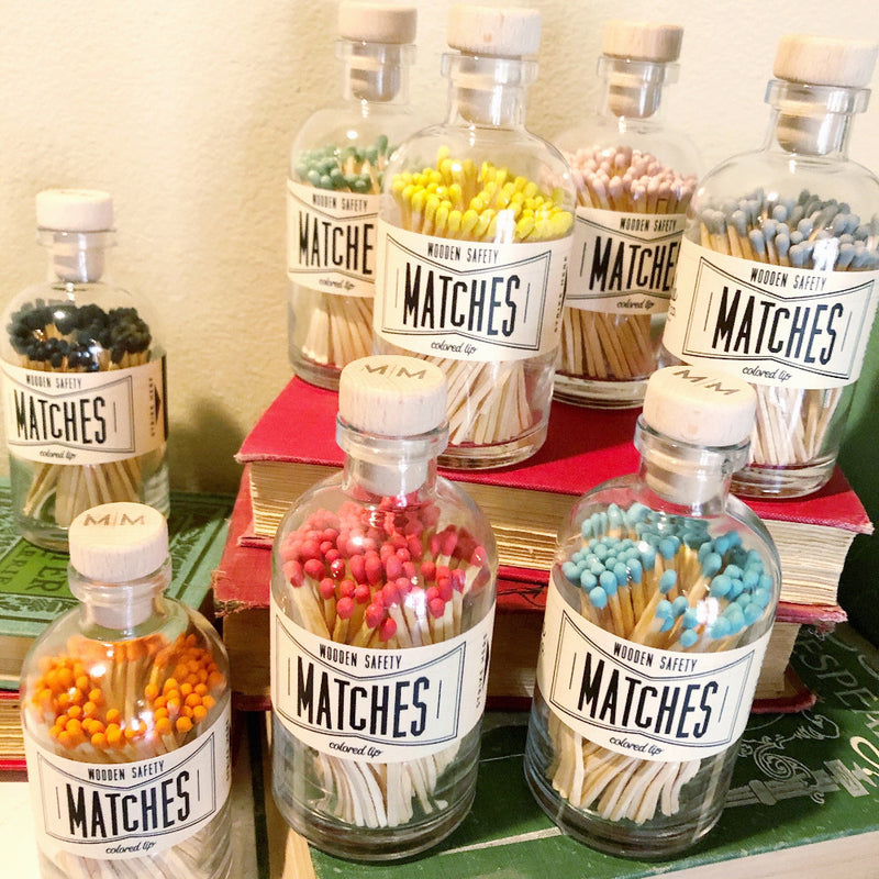 colorful apothecary matches on barquegifts.com