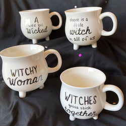 cauldron witch mugs on barquegifts.com