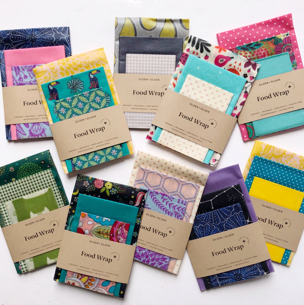 Beeswax Wraps - Mixed
