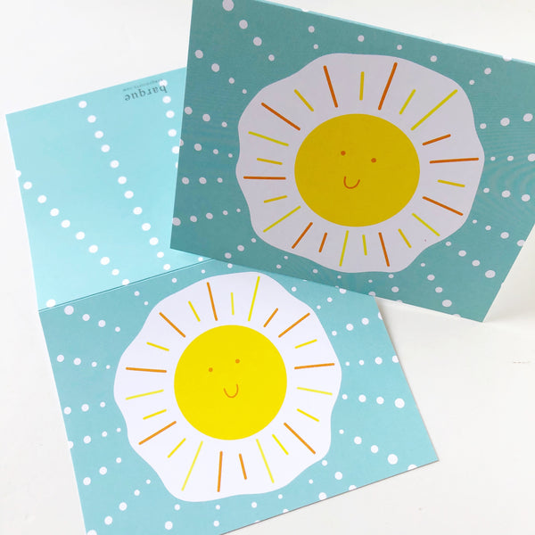 Sunny Side Up Folded Notes