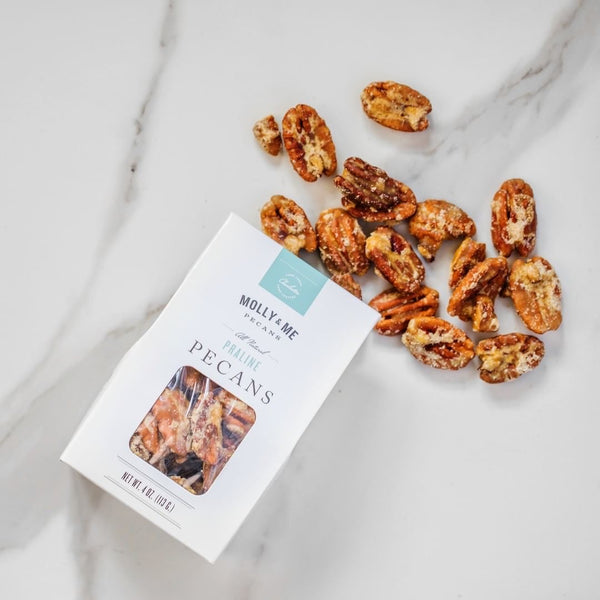 praline pecans on barquegifts.com