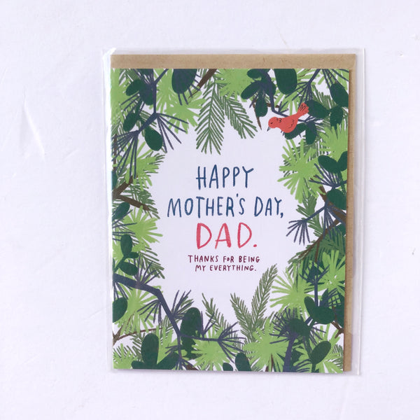 Mother's Day Card Options - Dad
