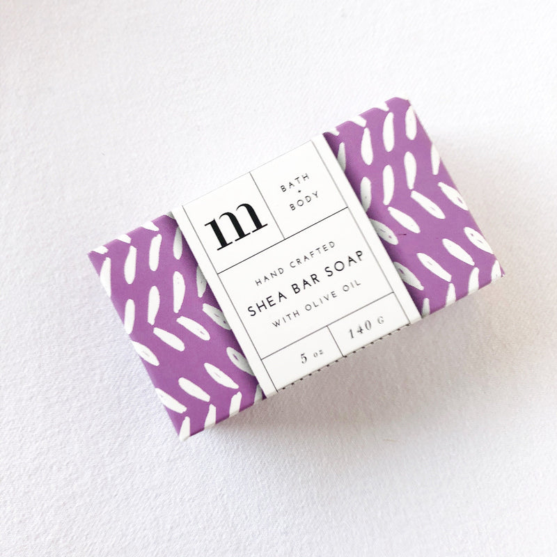 lavender garden bar soap on barquegifts.com