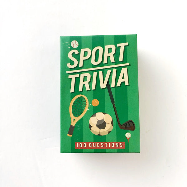 sports trivia card game on barquegifts.com