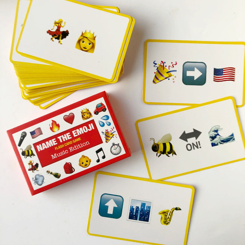 music name the emoji card game on barquegifts.com