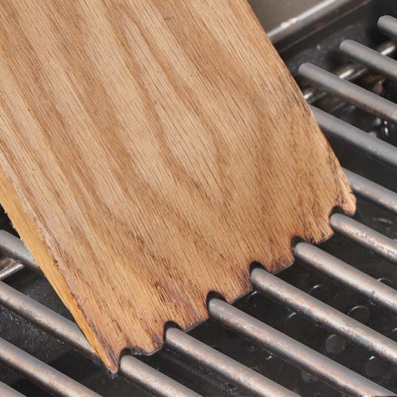 Woody Paddle Grill Cleaning Tool