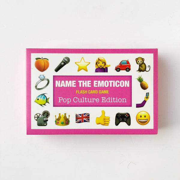 pop culture name the emoji card game on barquegifts.com