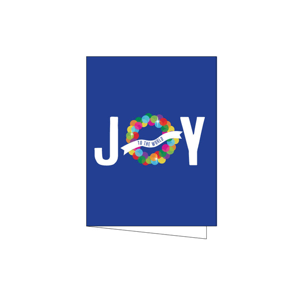 joy to the world holiday card on barquegifts.com