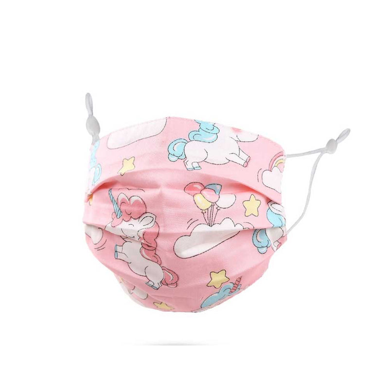 pink unicorn kids face mask on barquegifts.com