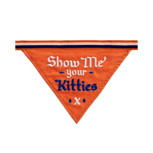 Show Me Your Kitties Dog Bandana