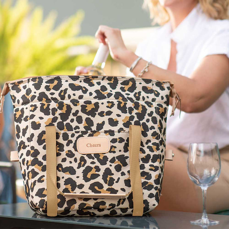 jon hart leopard large cooler on barquegifts.com