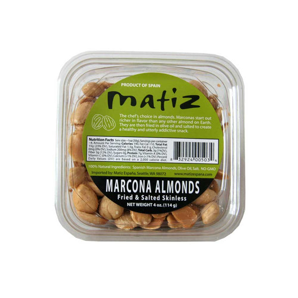Matiz marcona almonds on barquegifts.com