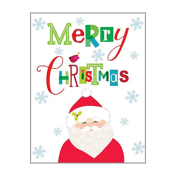 Merry Santa Boxed Christmas Cards  (box of 10)