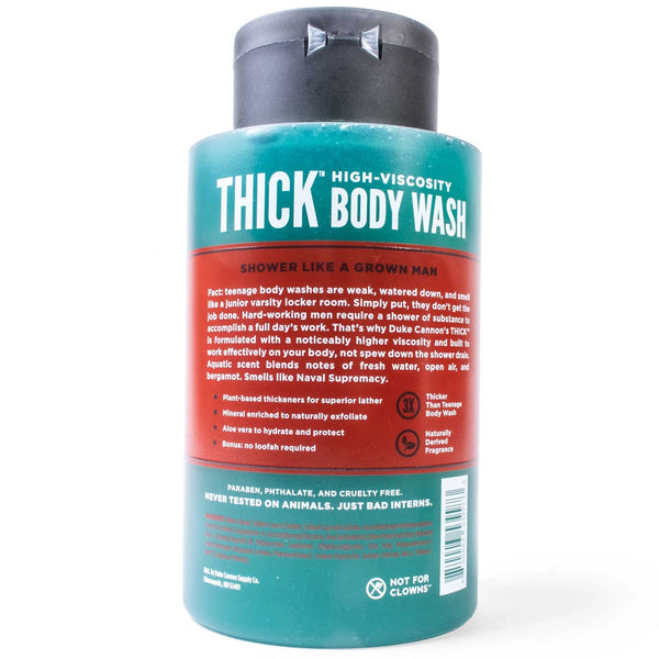 Thick Naval Supremacy Body Wash