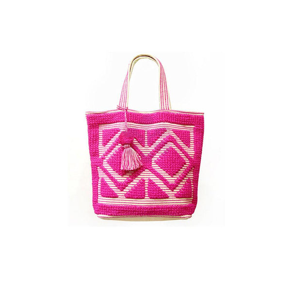 Tribal Pattern Beach Tote