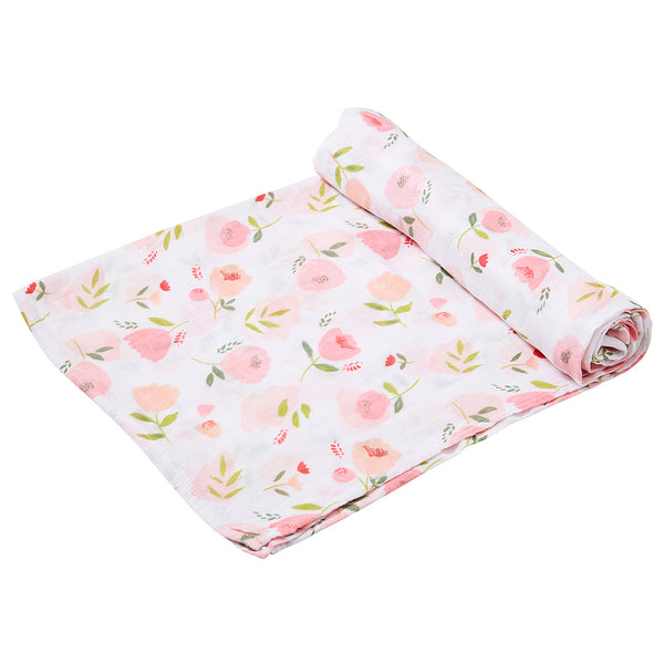 Pretty In Pink Swaddle Blanket