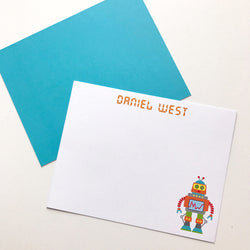 robot stationery