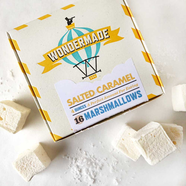 salted caramel marshmallows on barquegifts.com