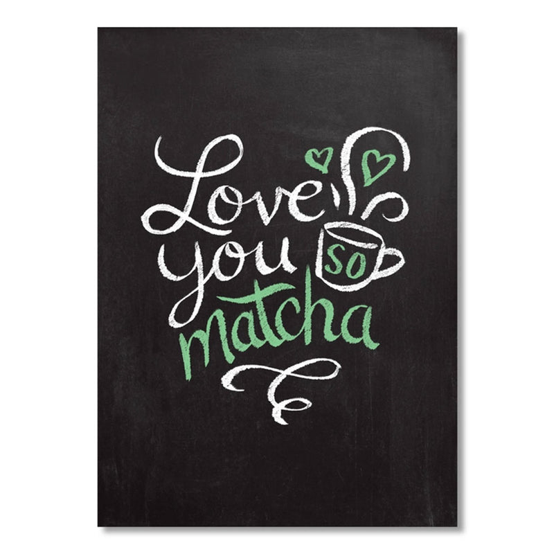 love you so matcha card on barquegifts.com