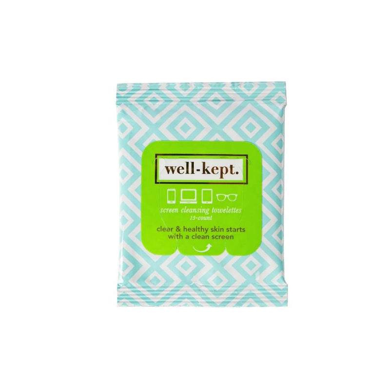 well kept screen wipes on barquegifts.com