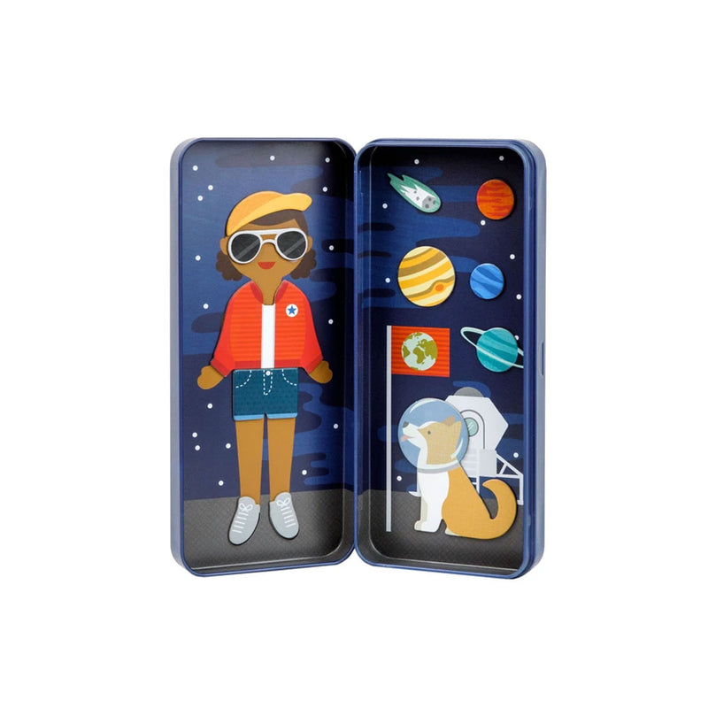 Space Magnetic Dress Up Tin