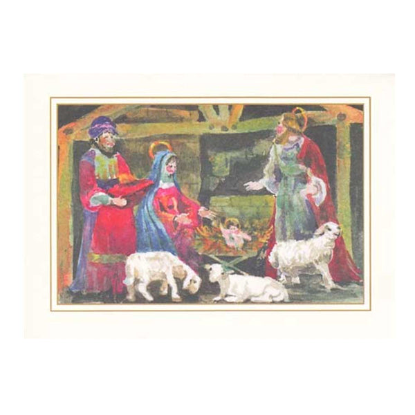 Stable Boxed Holiday Cards  (box of 10)