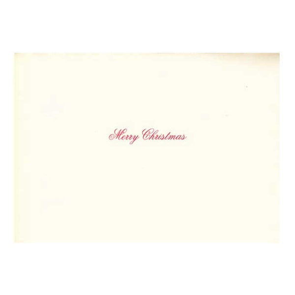 We Three Boxed Holiday Cards  (box of 10)