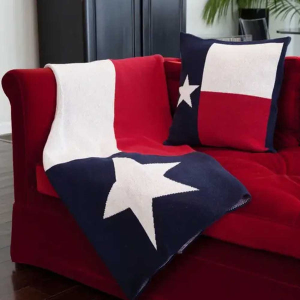 Texas Flag Eco Throw Blanket