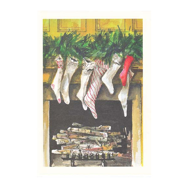 Toasty Toes Boxed Holiday Cards  (box of 10)