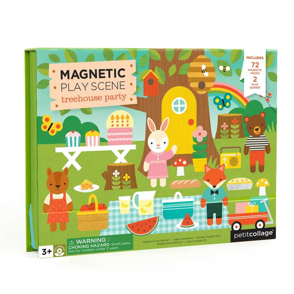 Treehouse Magnetic Play Set