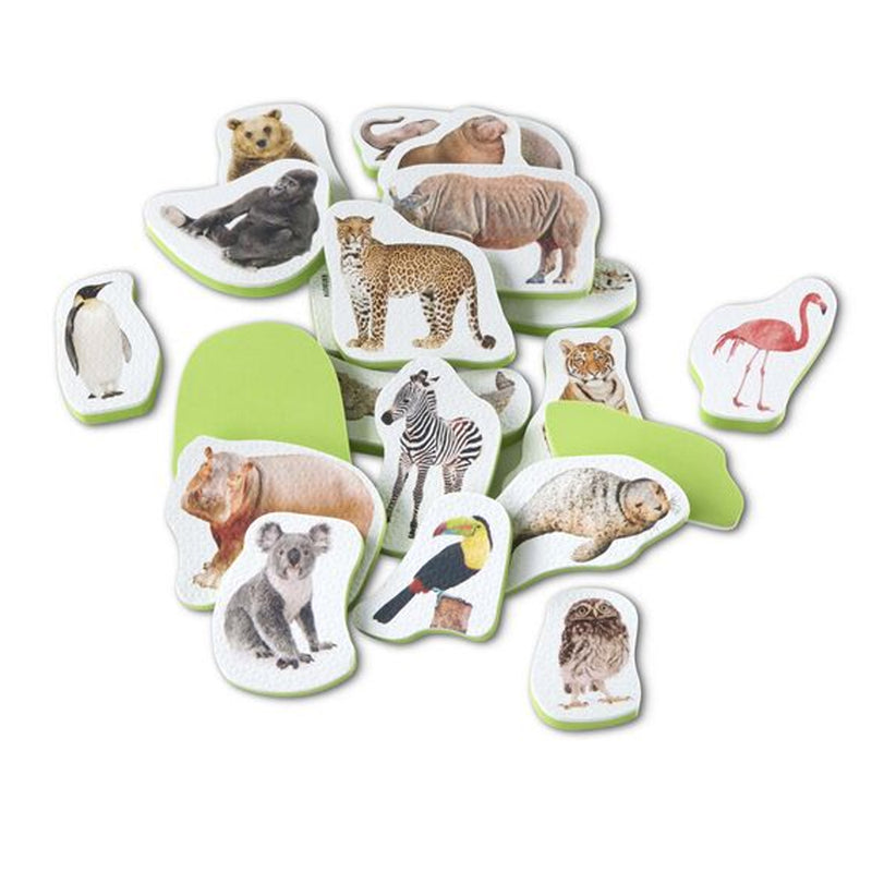 Wild Animal Tub Stickables