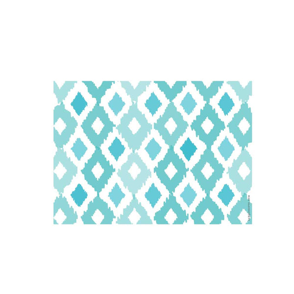 Turquoise Ikat Flat Note