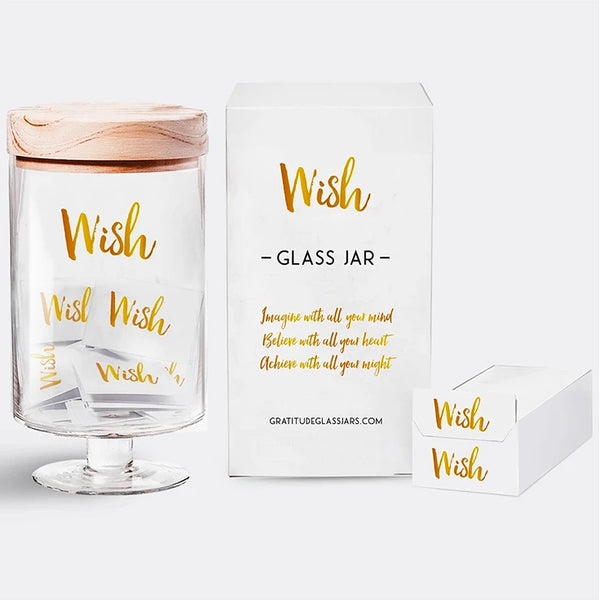 Wish Glass Jar