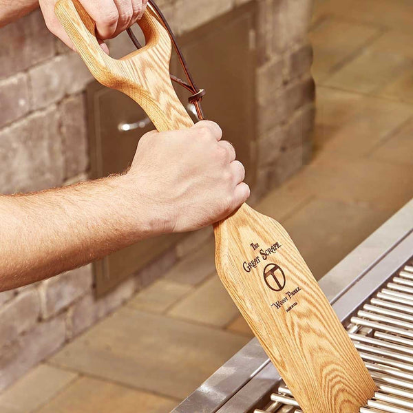 Woody Shovel Grill Cleaning Tool