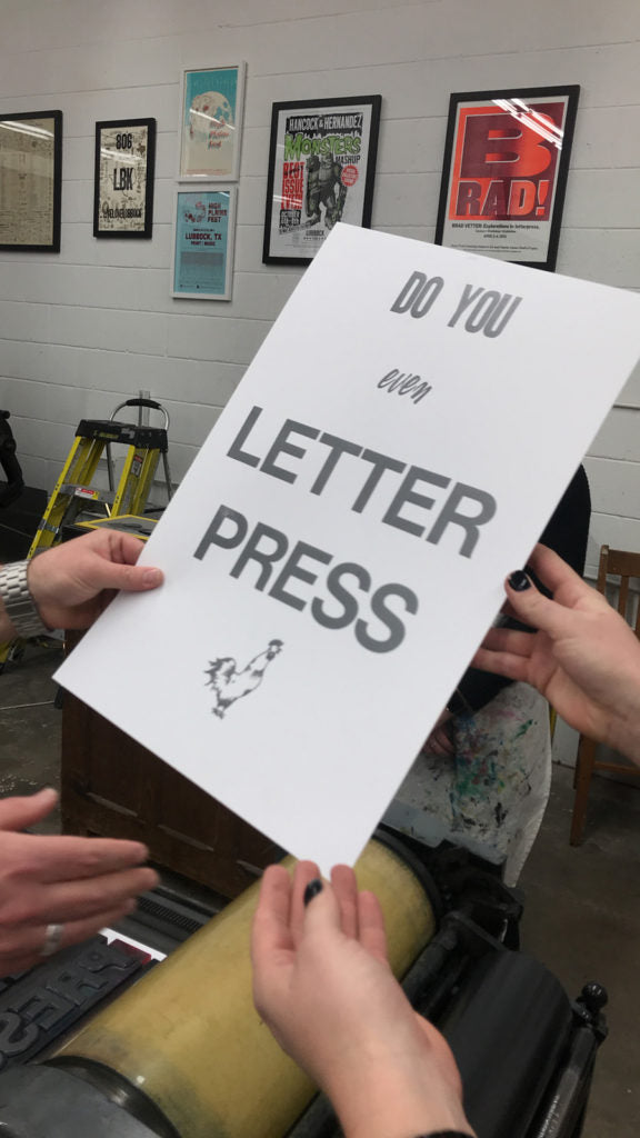 Do You Even Letterpress on barquegifts.com