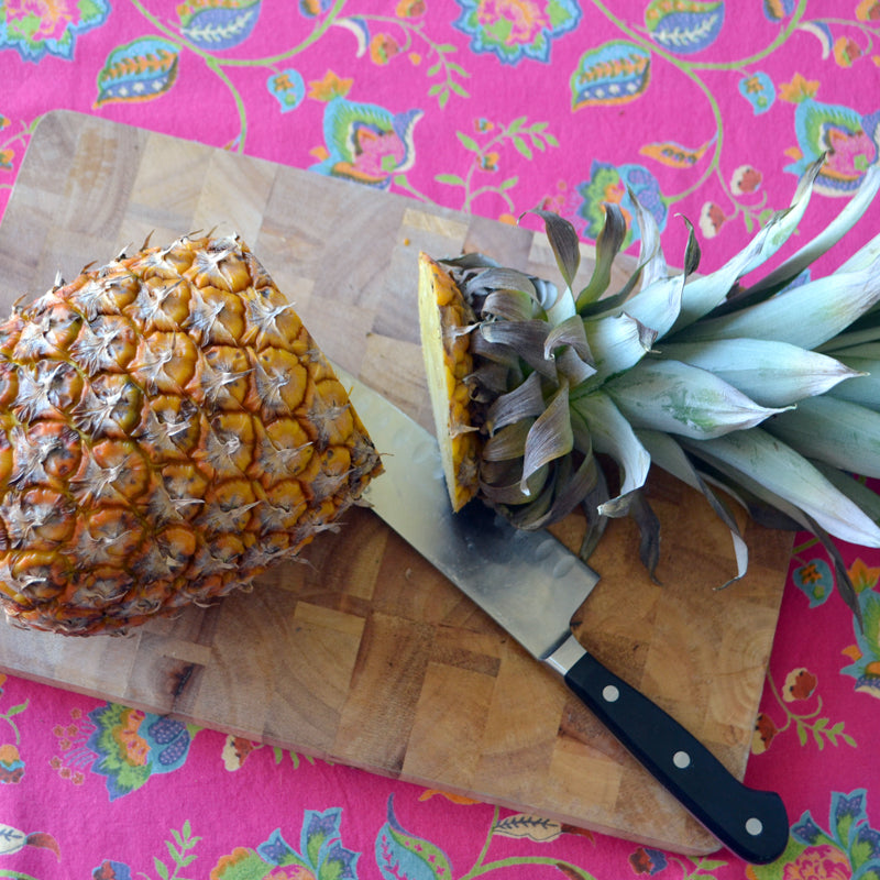 pineapple plates how to
