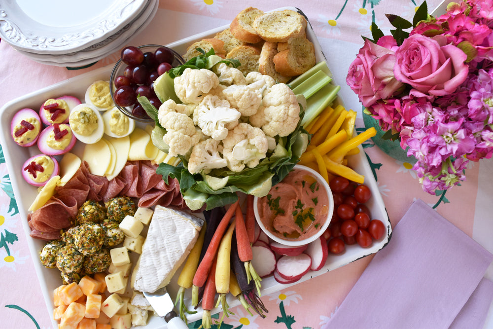 spring appetizer board on barquegifts.com