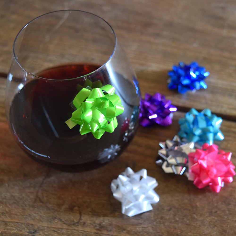 Mini Bow Drink Marker on barquegifts.com