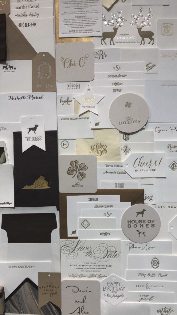 Haute Papier booth on barquegifts.com