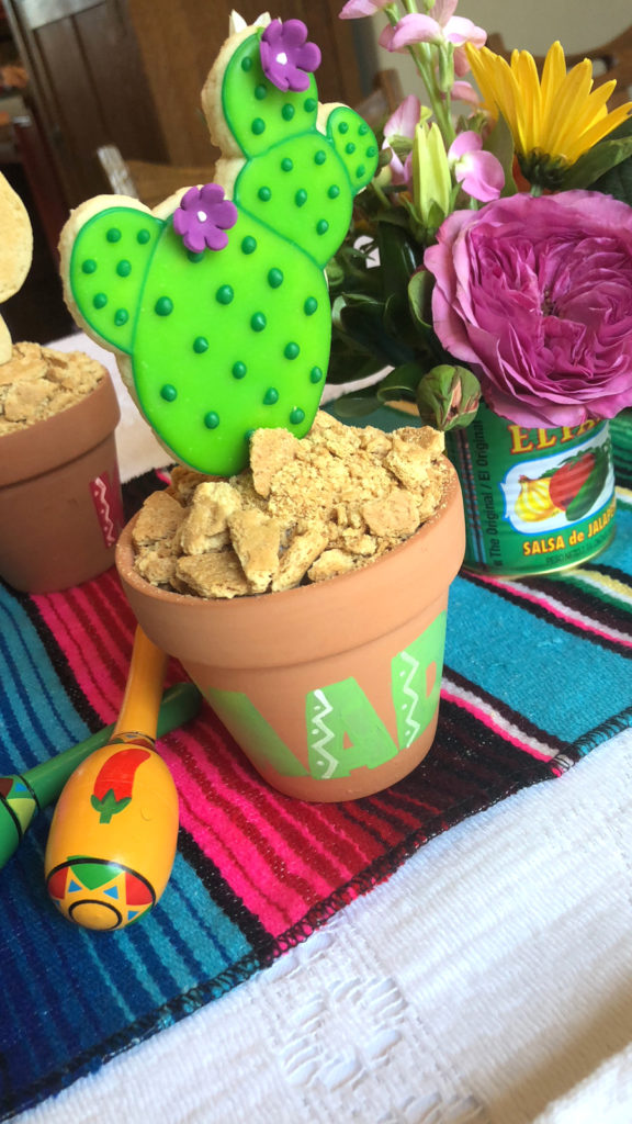 Cactus Cookie Placecard on barquegifts.com
