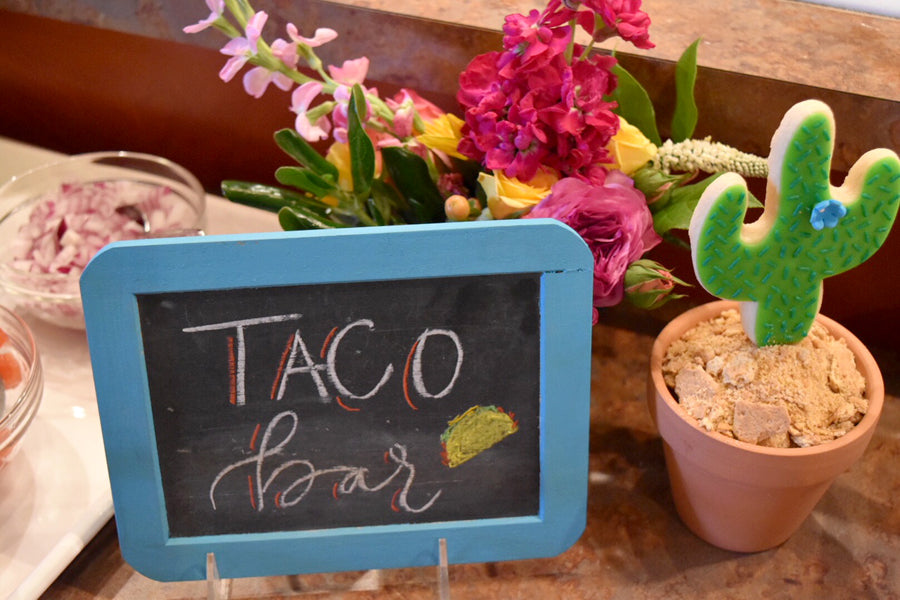 Taco Bar Sign on barquegifts.com