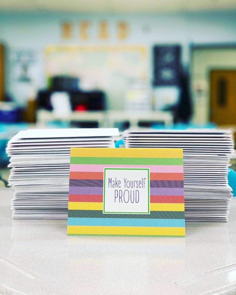 teacher notes to students on barquegifts.com