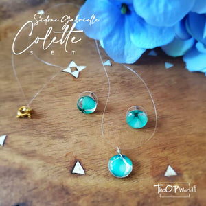 Sidonie-Gabrielle Colette earrings