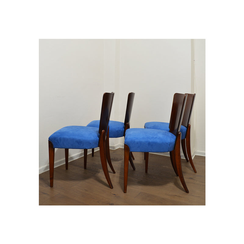Art Deco Dining Chairs, 1950's