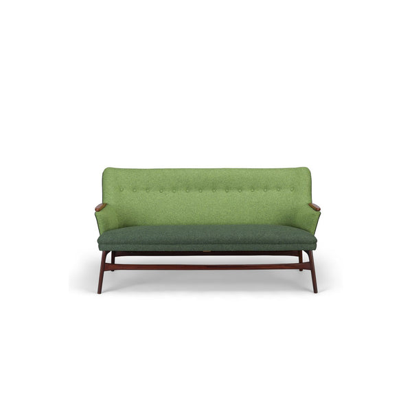 Danish Green Vintage Sofa From CFC Silkeborg, 1960s